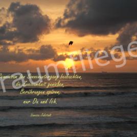 Gemeinsamer Sonnenuntergang